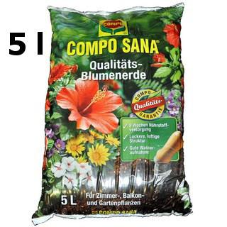 COMPO SANA Qualitäts-Blumenerde (5,0l)