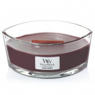 "Bild 1 von 2 - WoodWick® Ellipse Glass ""Black Cherry"" (1 St.)"