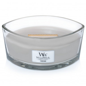 "Bild 1 von 2 - WoodWick® Ellipse Glass ""Fireside"" (1 St.)"