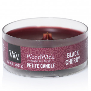 "Bild 1 von 1 - WoodWick® Petite Candle ""Black Cherry"" (1 St.)"