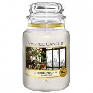 "Bild 1 von 2 - Yankee Candle® Classic Jar ""Surprise Snowfall"" Large (1 St.)"