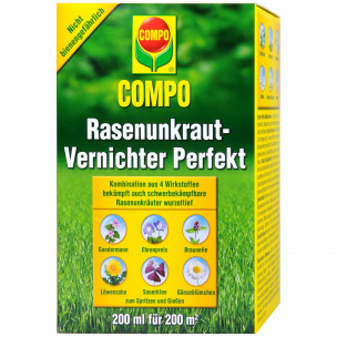 compo rasenunkraut vernichter perfekt 200 ml pzn 09955420 avivamed ihre onlinedrogerie. Black Bedroom Furniture Sets. Home Design Ideas