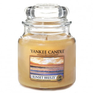"Bild 1 von 2 - Yankee Candle® Classic Jar ""Sunset Breeze"" Medium (1 St.)"