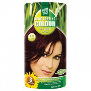 Bild 1 von 1 - Henna Plus Long Lasting Colour red violet brown, Nr. 4.67