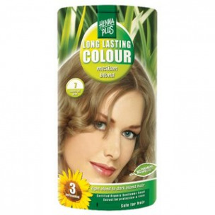 Bild 1 von 1 - Henna Plus Long Lasting Colour medium blond Nr. 7