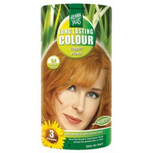 Bild 1 von 1 - Henna Plus Long Lasting Colour copper blond, Nr. 8.4