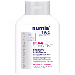 Bild 1 von 1 - numis® med pH 5,5 Sensitive Shampoo Anti-Stress (200 ml)