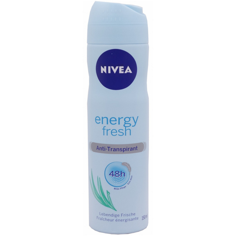 Nivea Deo Spray Energy Fresh 150 Ml Pzn 09988237 Avivamed