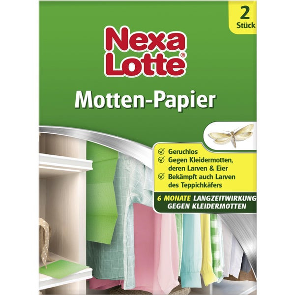 Nexa Lotte Motten Papier 2 St Pzn 16002308 Avivamed Ihre Onlinedrogerie