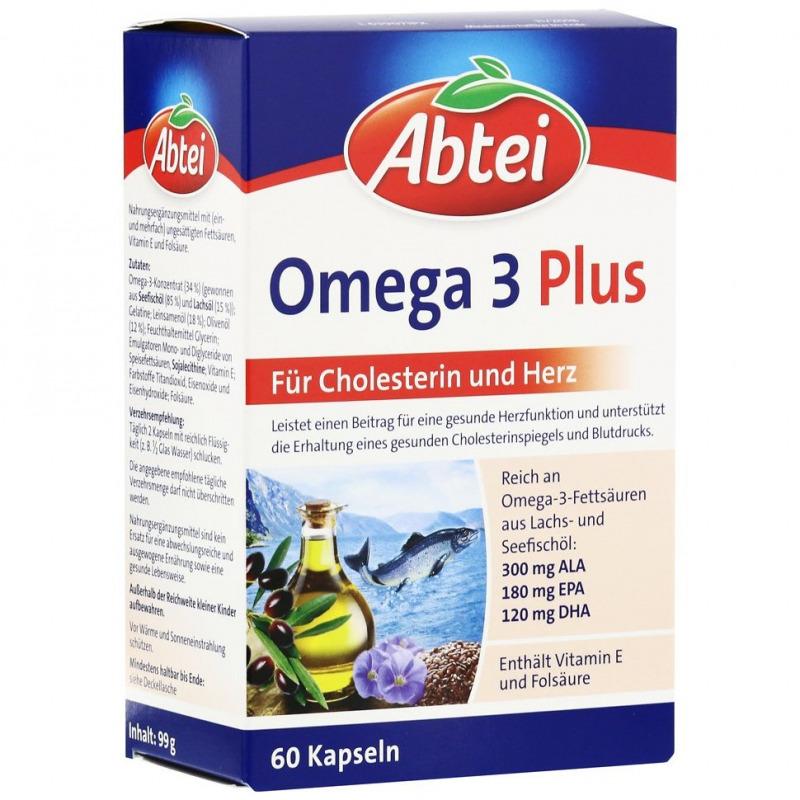 Abtei Omega 3 Plus (60 St.) - PZN: 08797251 - AvivaMed - Ihre ...