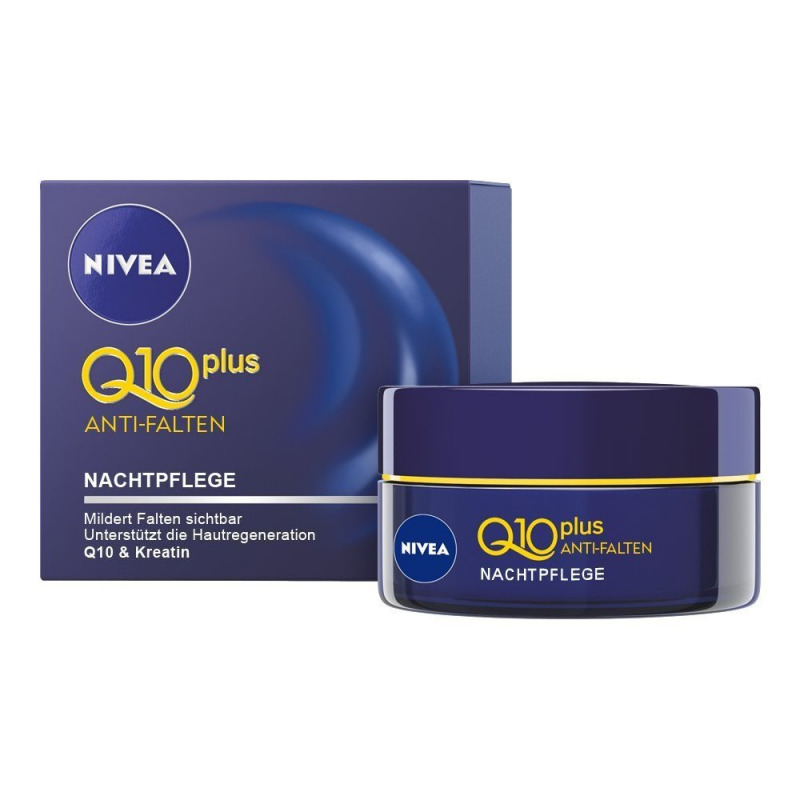 nivea q10 plus anti falten nachtpflege 50 ml pzn 11327690 avivamed ihre onlinedrogerie. Black Bedroom Furniture Sets. Home Design Ideas
