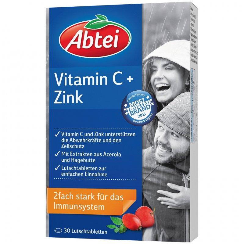 abtei vitamin c zink lutschtabletten 30 st pzn. Black Bedroom Furniture Sets. Home Design Ideas