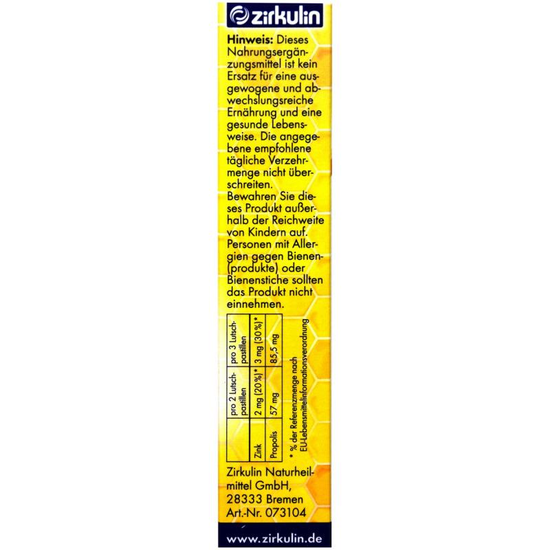 Zirkulin Propolis Husten-Pastillen (30 St.) - PZN: 13198239 ...