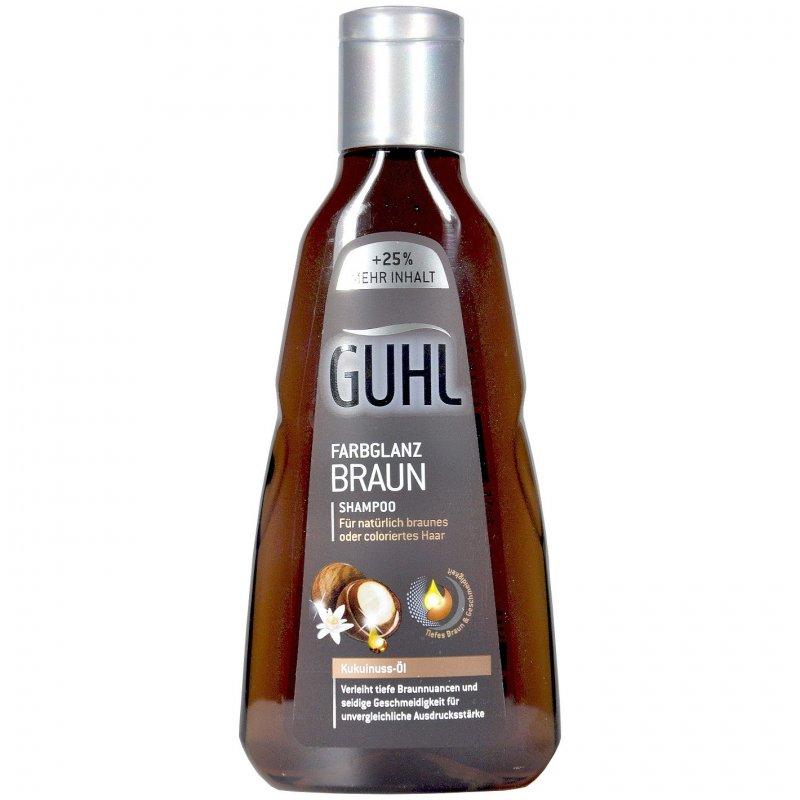 Guhl Shampoo Farbglanz Braun Mit Kukuinuss öl 250 Ml Pzn
