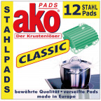 akoPADS® Classic Stahlpads (12 St.)