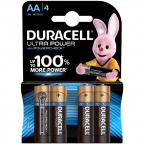 Duracell® AA Ultra Power Batterien 1,5 Volt (4 St.)
