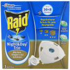 Raid® Insektenstecker Night & Day Trio (Nachfüllpack)
