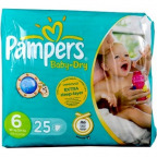 Pampers Baby-Dry Gr. 6 extra large (25 St.)